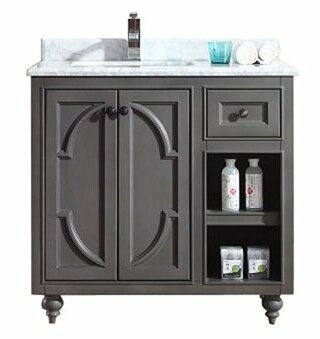 Odyssey 36 Single Bathroom Vanity Set by LavivaOdyssey 36 Single Bathroom Vanity Set by Laviva