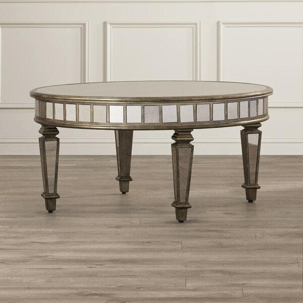 Gestel Mirrored Coffee Table by Mercer41