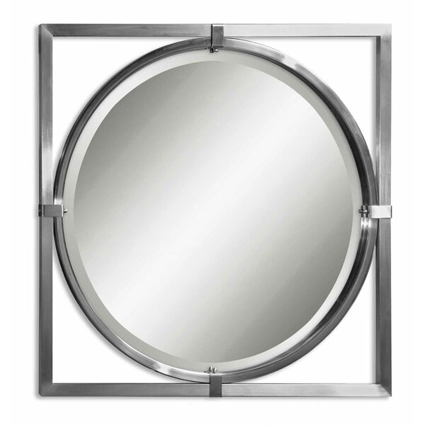Bewley Kagami Beveled Mirror by Charlton Home