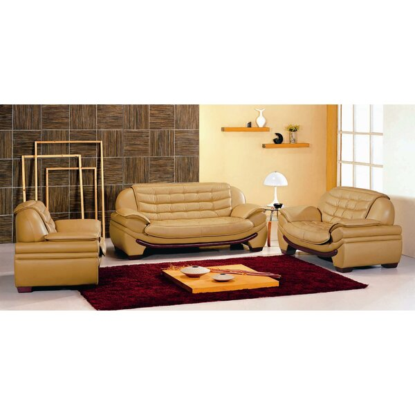 Westminster 3 Piece Living Room Set by Hokku Designs