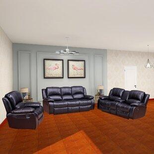 Dowdle 3 Piece Living Room Set by Red Barrel Studio®