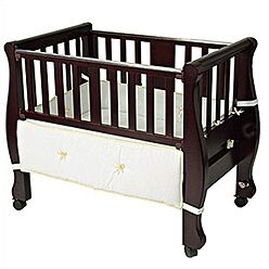 Arm S Reach Sleigh Bed Co Sleeper Bassinet Amp Reviews Wayfair