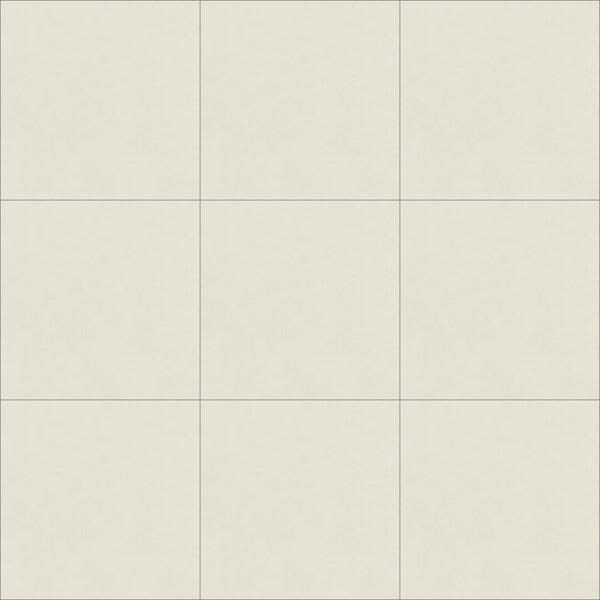 Solid Seashell 8 x 8 Cement Field Tile in Off-White by Villa Lagoon Tile