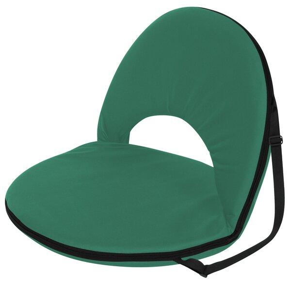 Margene Portable Multiuse Adjustable Reclining Stadium Seat with Cushion by Freeport Park Freeport Park