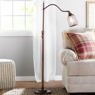 Great Price Laurent 58.25 Task Floor Lamp By August Grove