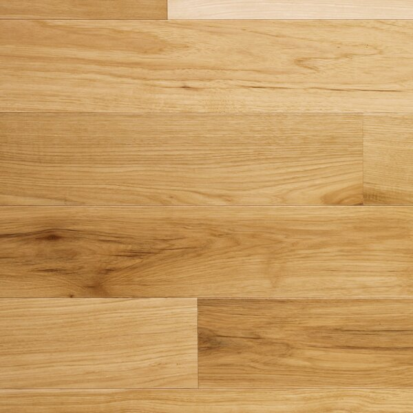 Character 5 Engineered Hickory Hardwood Flooring in Natural by Somerset Floors