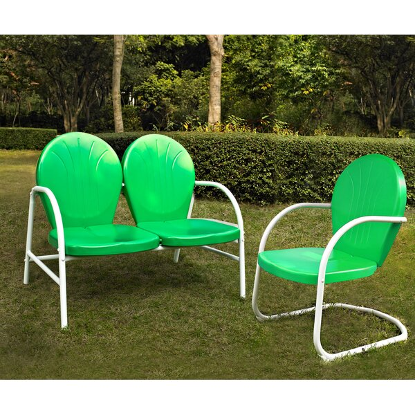 Samson 2 Piece Sunbrella Sofa Set by Crosley