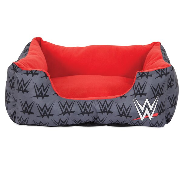 Rectangular Bolster Dog Bed by WWE