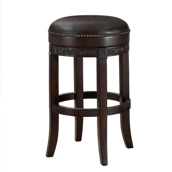 Battershell 30 Swivel Bar Stool by Astoria Grand