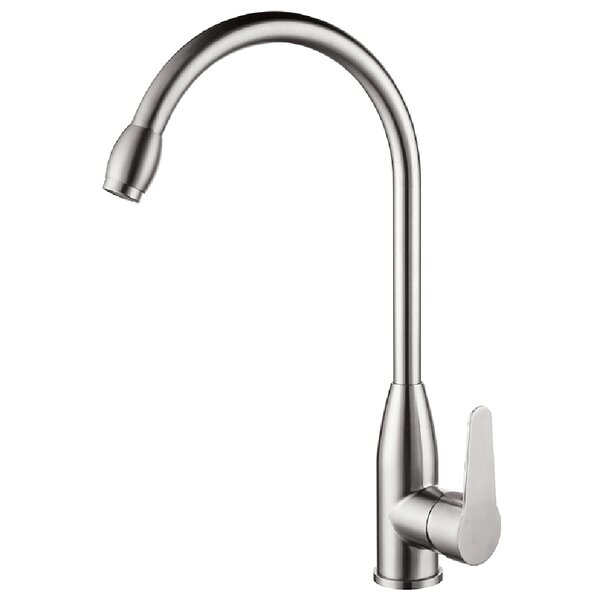 Fountain Single Handle Kitchen Faucet By Ztrends LLC