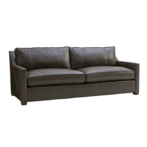 Zavala Leather Sofa by Lexington
