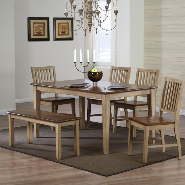 Huerfano Valley 6 Piece Dining Set by Loon Peak Loon Peak