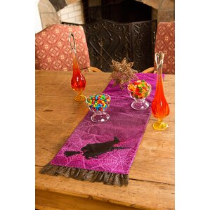 witching hour halloween table runner