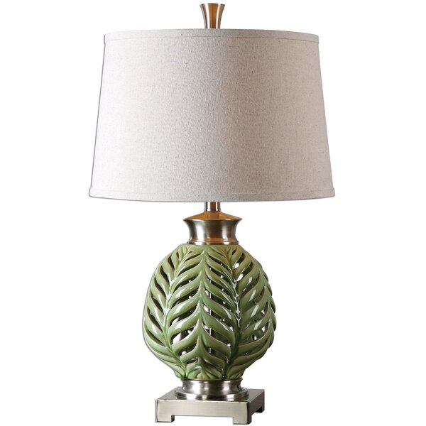 Perego Flowing Fern 26.75 Table Lamp by Bay Isle Home
