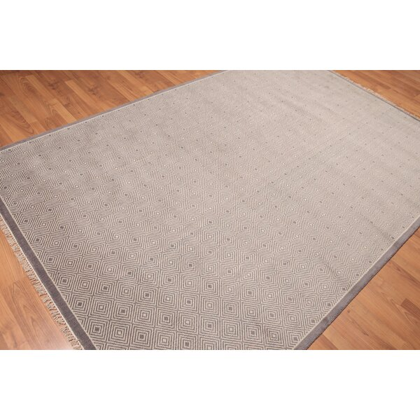 One-of-a-Kind Doynton Hand-Knotted Wool Gray Area Rug by Corrigan Studio