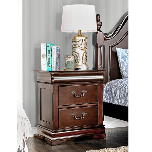 Cherisse 2 Drawer Nightstand by Hokku Designs