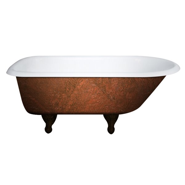 Cast Iron Clawfoot 61 x 30 Freestanding Soaking Bathtub by Cambridge Plumbing