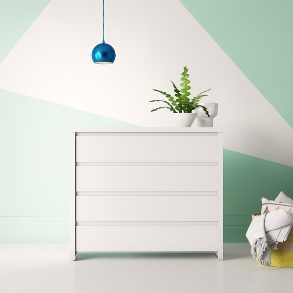 Kiana 4 Drawer Dresser by Hashtag Home