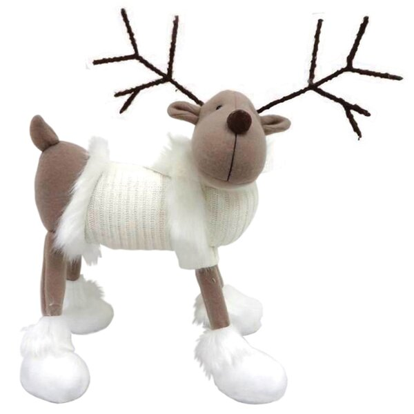 Reindeer with White Sweater by The Holiday Aisle