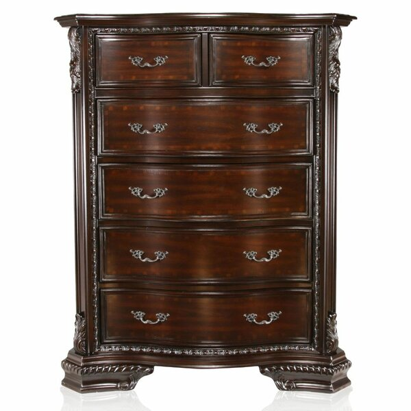 Tolentino 6 Drawer Chest by Astoria Grand