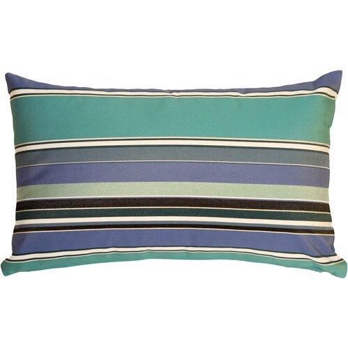 Cherryvale Oasis Outdoor Sunbrella Lumbar Pillow by Red Barrel Studio