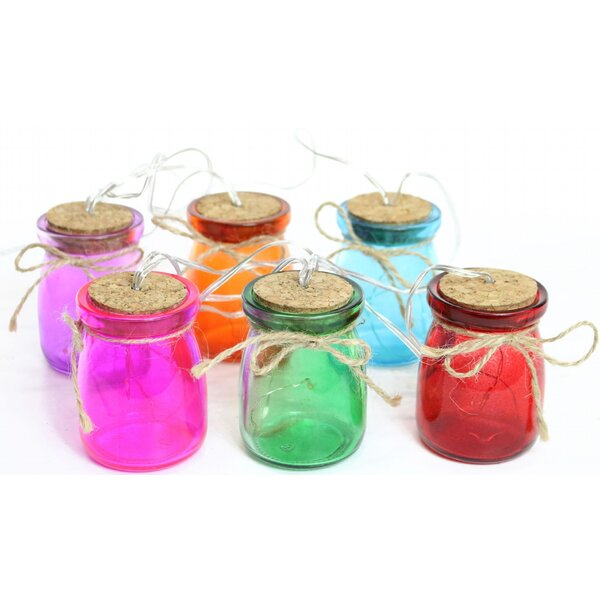 Decor Glass Jar 6 String Light (Set of 6) by August Grove