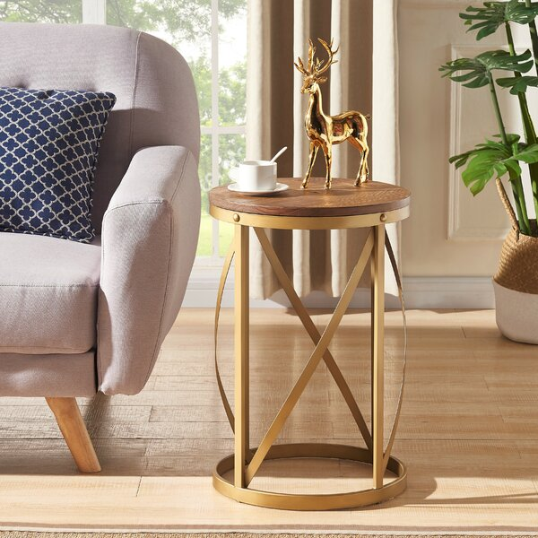 Braselton End Table by Everly Quinn