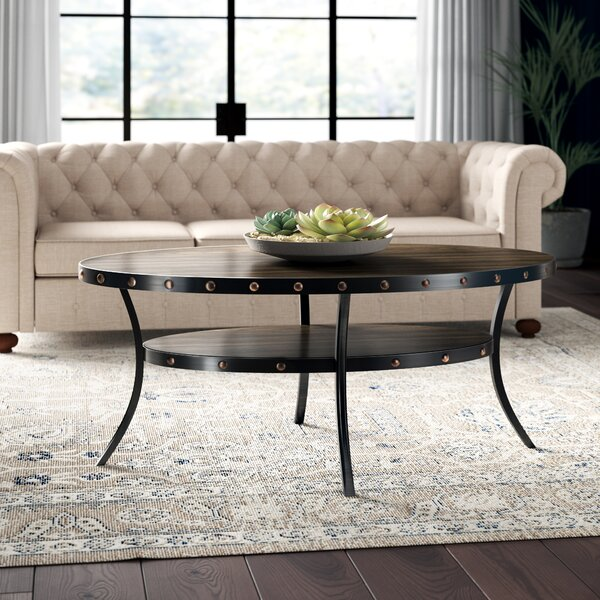 Haysi Espresso Coffee Table by Greyleigh