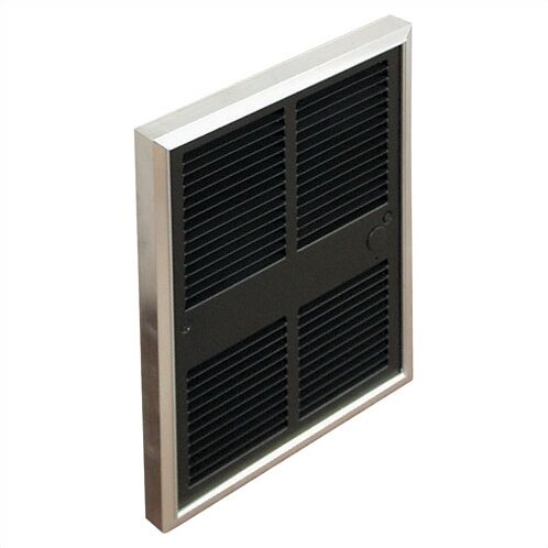 Commercial 6,826 BTU Wall Insert Electric Fan Heater with Thermostat by TPI
