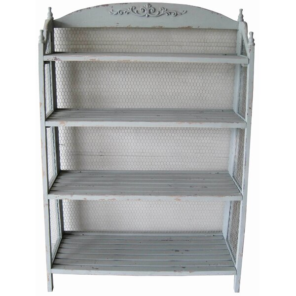 Lydia Standard Bookcase by Crestview Collection