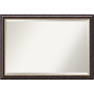 Gracie Oaks Johns Rustic Extra Large Accent Mirror