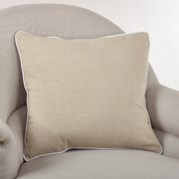 Soft Classic Cotton Throw Pillow by Saro
