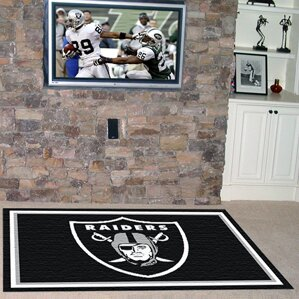 NFL - Oakland Raiders 4x6 Rug by FANMATS