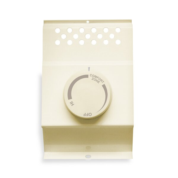 Double Pole Thermostat by Cadet