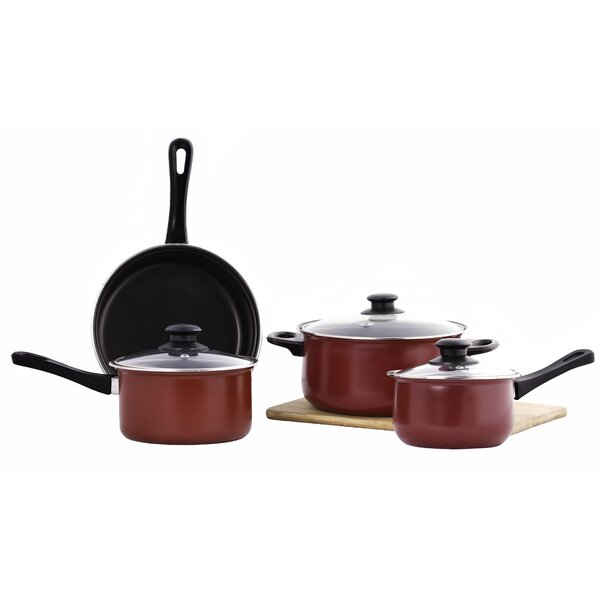 7 Piece Non-Stick Cookware Set by Imperial Home
