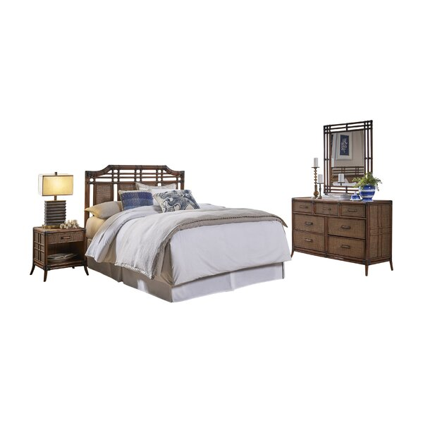 Ashleigh Queen Panel Bedroom Set (Set of 4) by Mistana