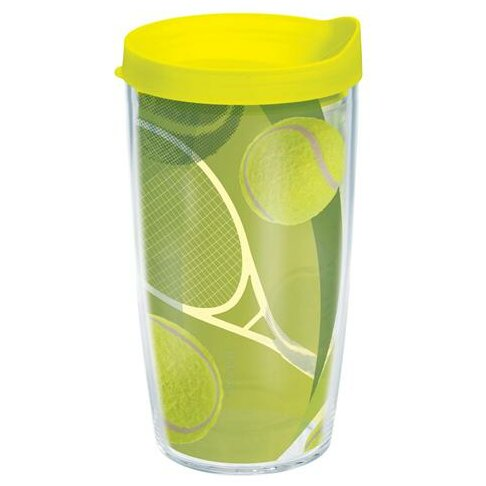 Game On Tennis Balls Plastic Travel Tumbler by Tervis Tumbler
