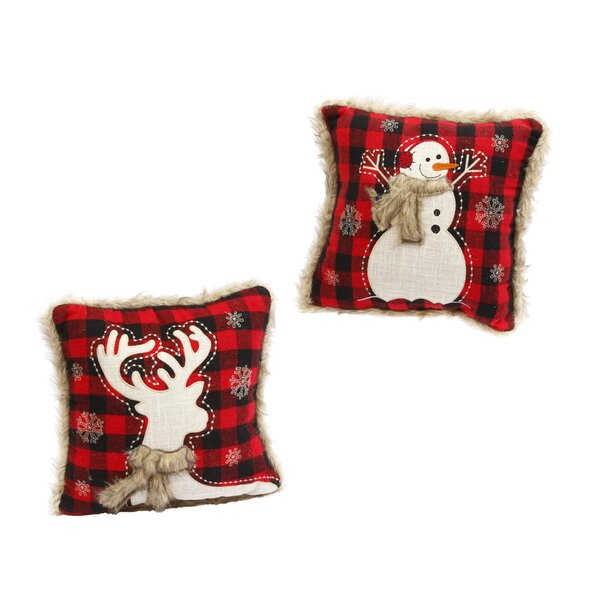 Helena 2 Piece Holiday Indoor Polyester Throw Pillow Set by The Holiday Aisle