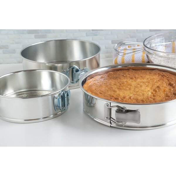 3 Piece Springform Pan Set by Fox Run Brands