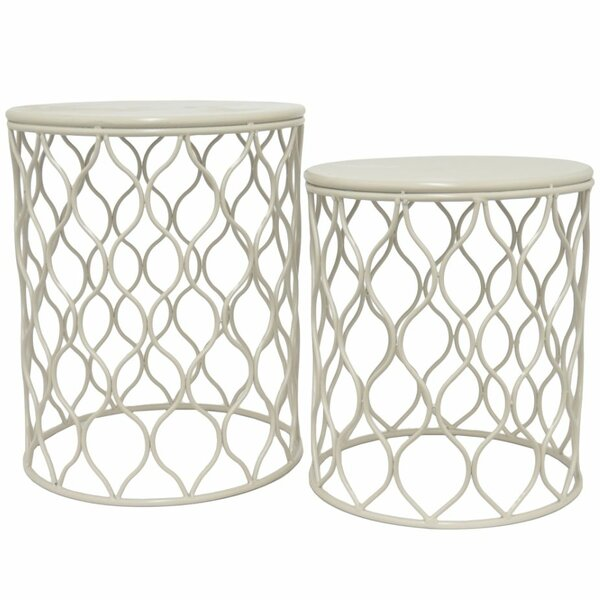 2 Piece Metal Stool by Three Hands