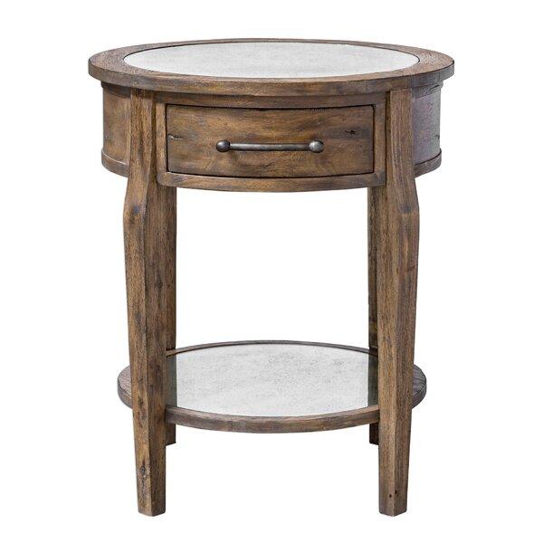 Nanci Wood End Table By Darby Home Co