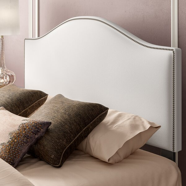 Doleman Nail Button Upholstered Panel Headboard by Willa Arlo Interiors
