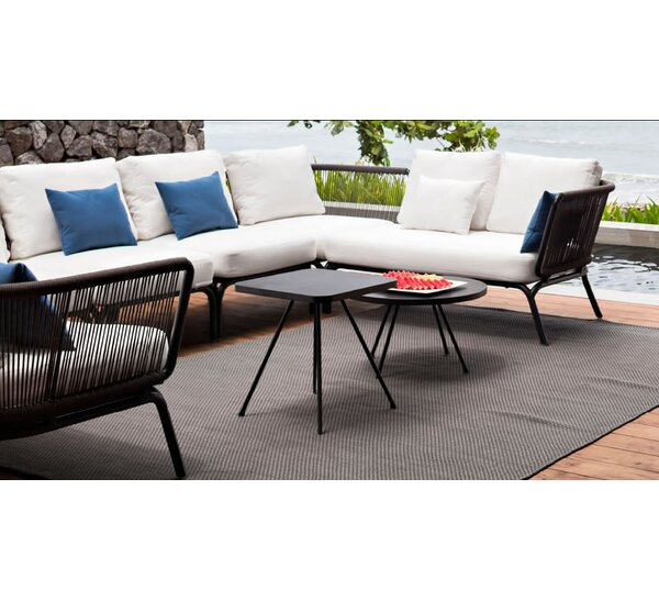Yland Patio Sectional with Cushions by OASIQ OASIQ