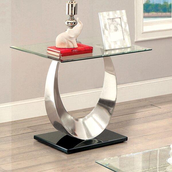 Gerhard End Table By Orren Ellis