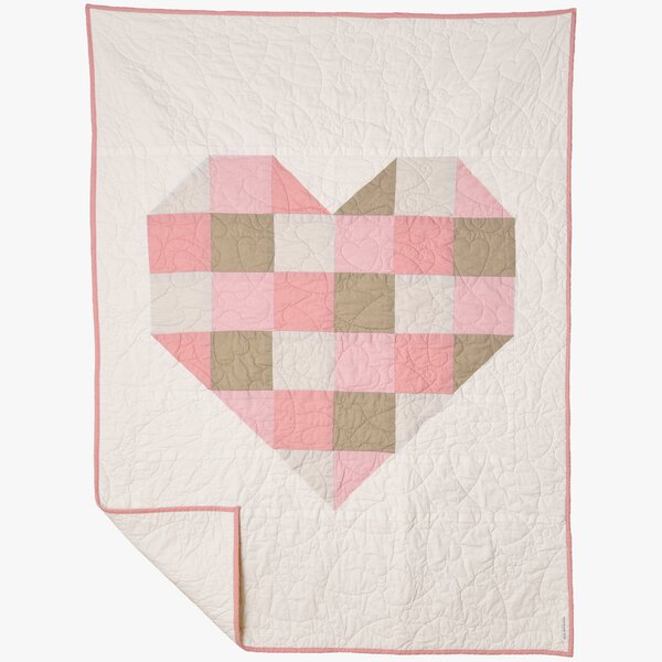 Wragby Love Is Quilt by Harriet Bee