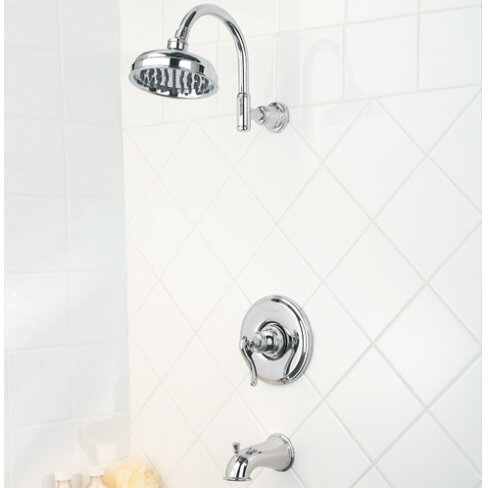 Ashfield Volume Control Tub And Shower Faucet With Lever Handle And Select By Pfister
