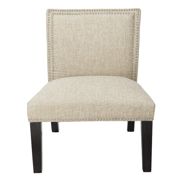 Heather Slipper Chair by Charlton Home