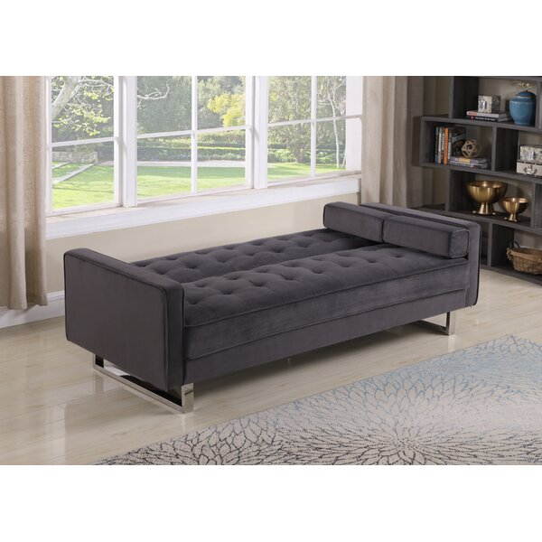 Roe Convertible Sofa by Everly Quinn