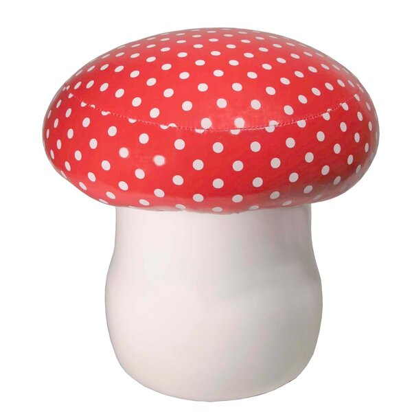 Cushioned Mushroom Accent Stool by Streamline