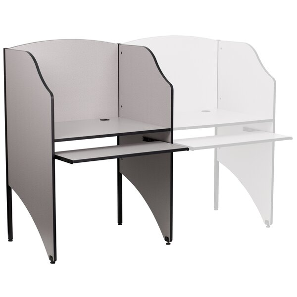Wood 49.63 Study Carrel by Flash Furniture